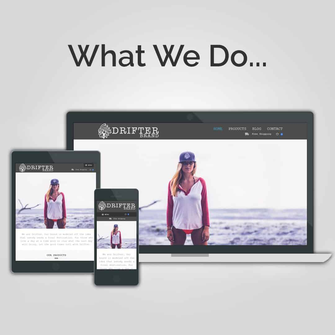Learn What We Do For Drifter Brand