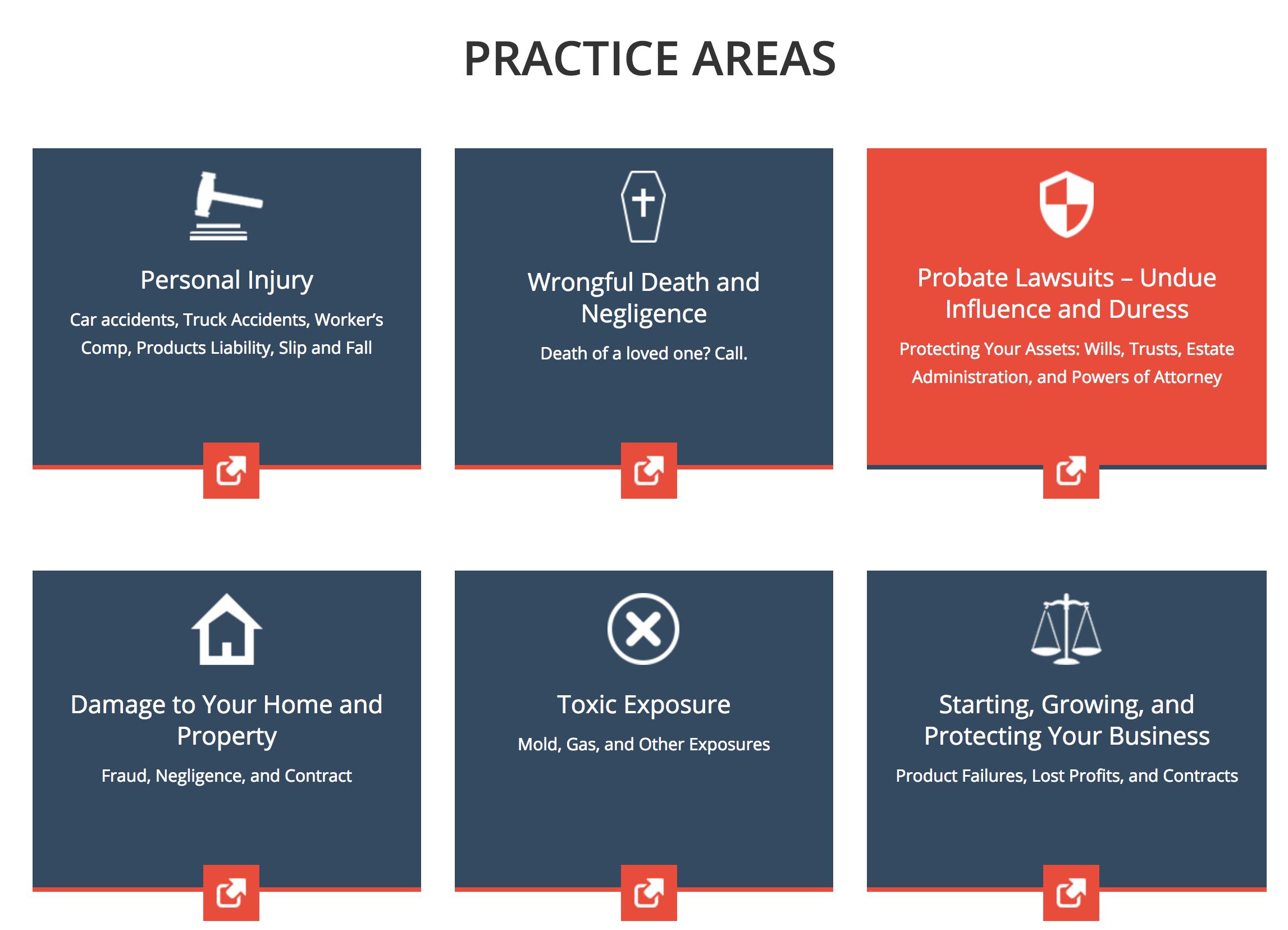 Jim Corbett Areas of Practice - Columbia SC Attorney